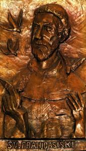 Reljef sv. Franje