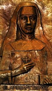 Reljef blažene Marije od Propetog