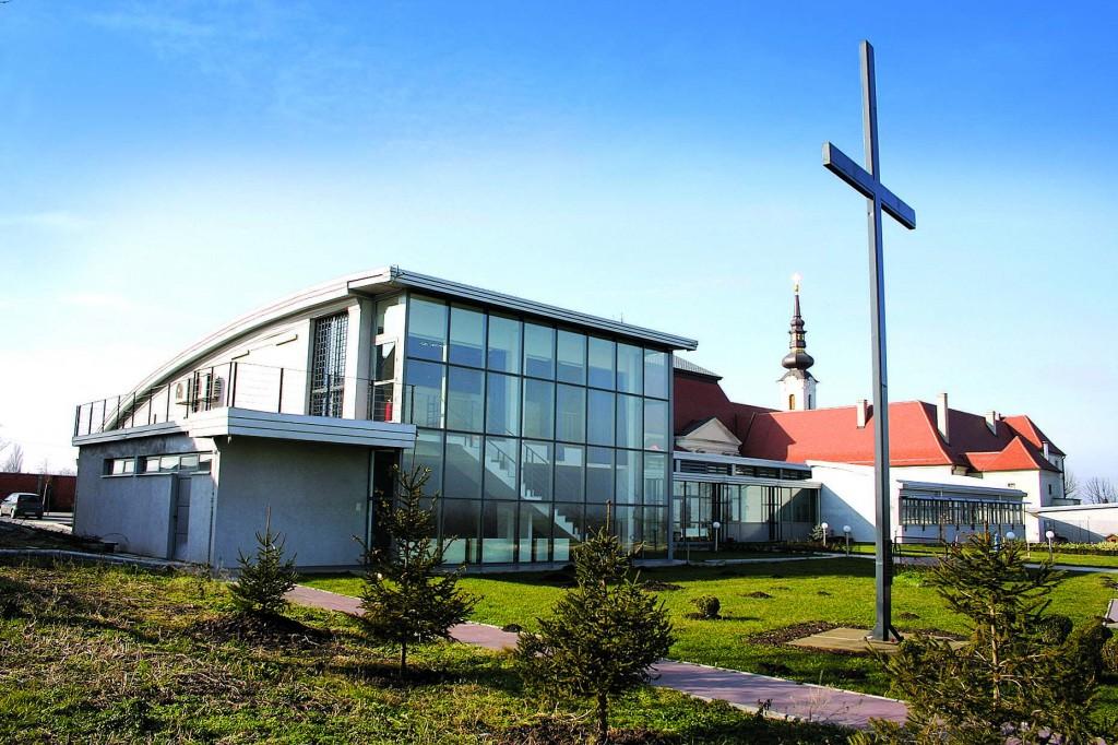 Pastoralni centar s pogledom na dvoranu sv. Bono