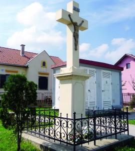 Križ na ulasku u Ratarsku ulicu
