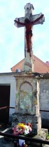 Križ na razmeđu Šamca i Sv. Bone