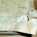 Ranjena knjiga od gelera