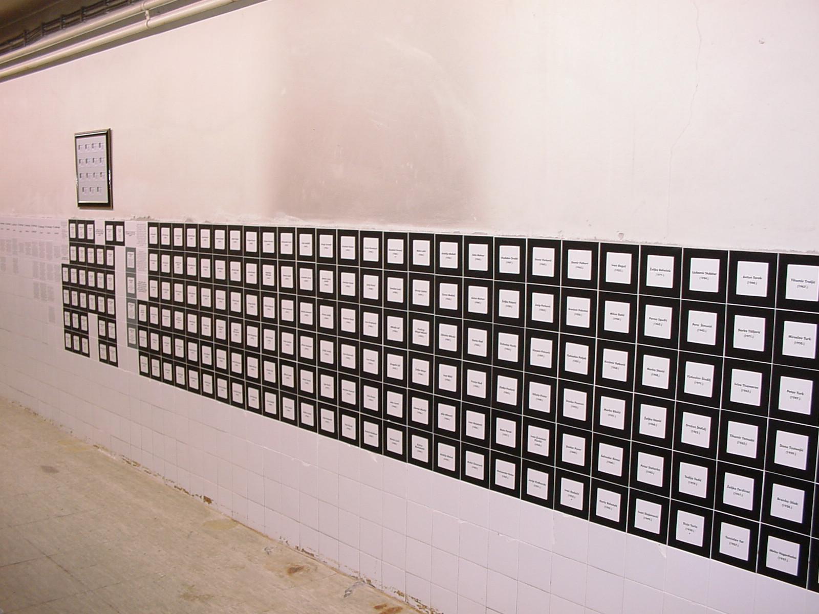 Slikovni rezultat za Popis ubijenih i nestali u Muzejskom prostoru bolnice