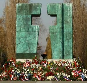 Križ na memorijalnom