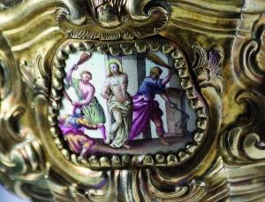 Detalj kaleža sv. Ivana kapistrana