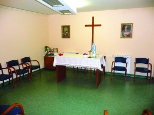 Kapelica u Domu za starije i nemoćne na Mitnici