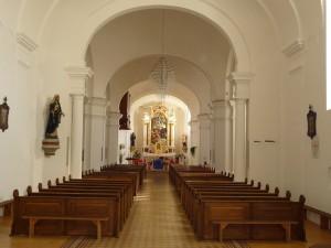 Crkva obnovljena iznutra 2012. godine