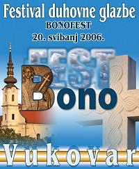 Plakat bonofest 2006