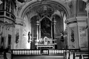 Pogled prema svetištu