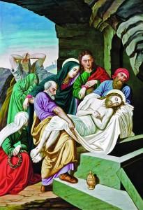 Polaganje Isusa u grob