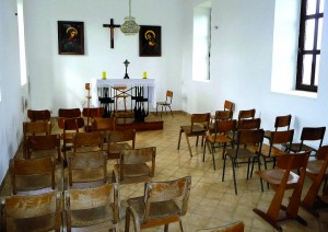 Unutrašnjost kapelice