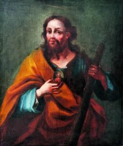 Sv. Juda Tadej, nepoznati autor, ulje na platnu, 18. st.